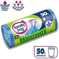 Handy Bag Bolsas de Basura 50L, Extra Resistentes