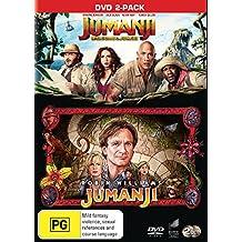 Jumanji / Jumanji: Welcome To The Jungle | NON-USA Format | PAL Region 4 Import - Australia