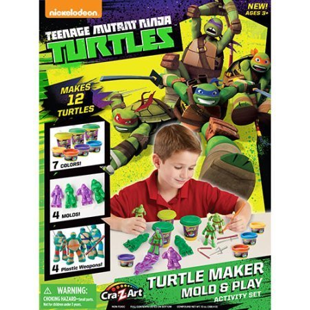 Teenage Mutant Ninja Turtles Turtle Maker Mold and Play Activity Set (Turtles Mold Teenage Ninja Mutant)