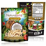 Natural Sins Crispy Thins Coconut Flavor, Baked Dried, 1 Ounce Bags (Pack of 12)