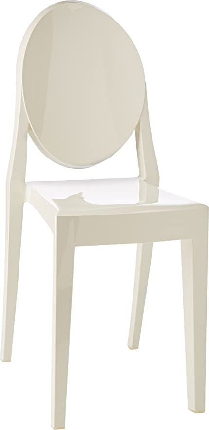 Kartell Victoria Ghost Sedia Bianco Set Da 2 Amazon It Casa E Cucina