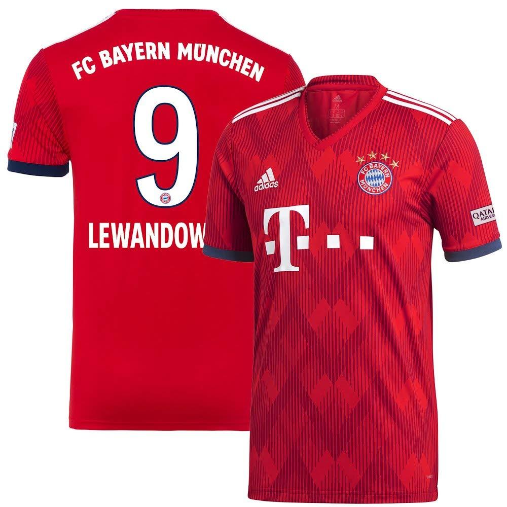 Bayern München Home Trikot 2018 2019 + Lewandowski 9