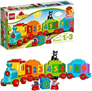LEGO DUPLO My First Number Train 10847 Learning and Counting Train Set Building Kit and Educational Toy for 1
