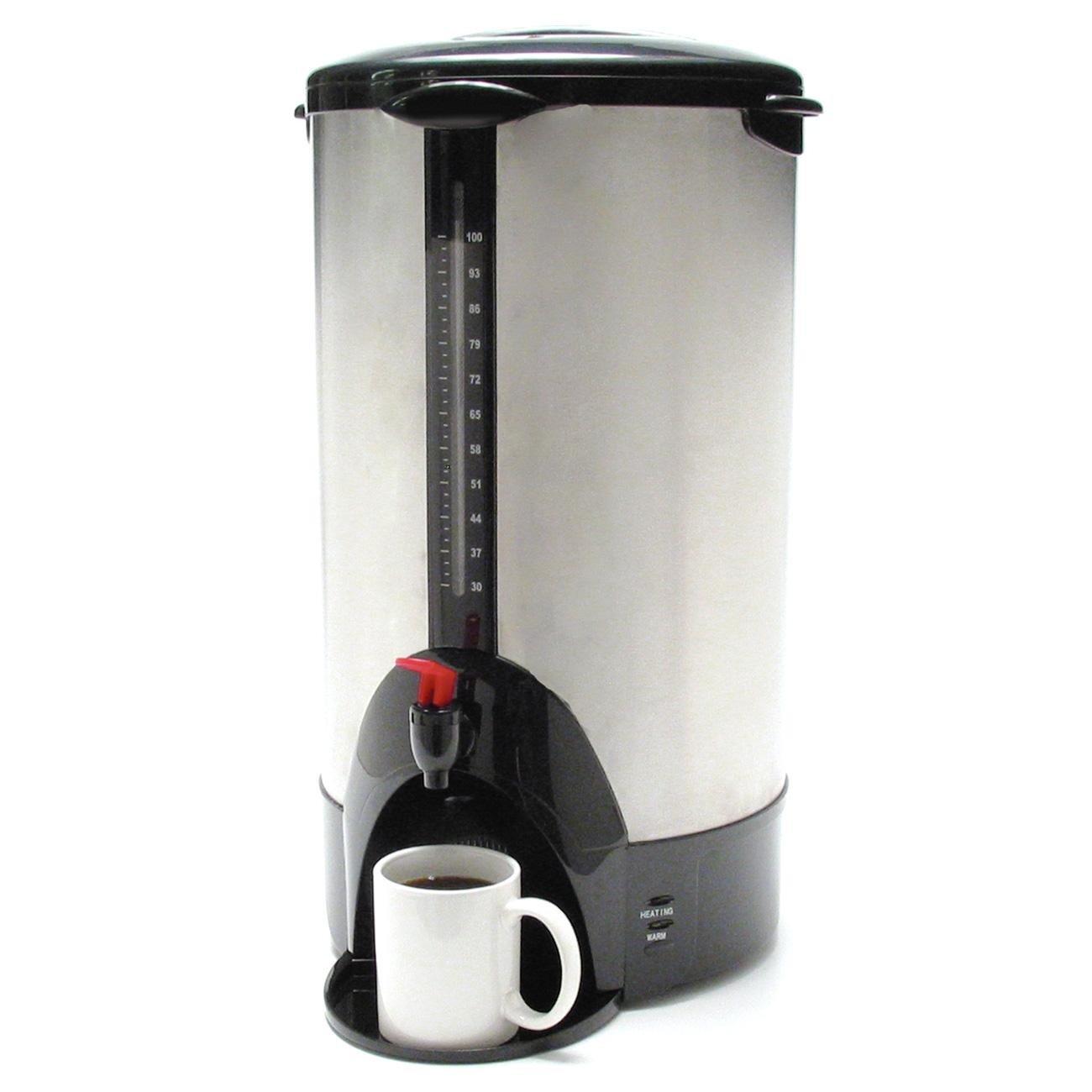 Coffee Pro CFPCP100 Coffee Makers, 12.5'' Length, 12.5'' Width, 13.3'' Height, 23 lb