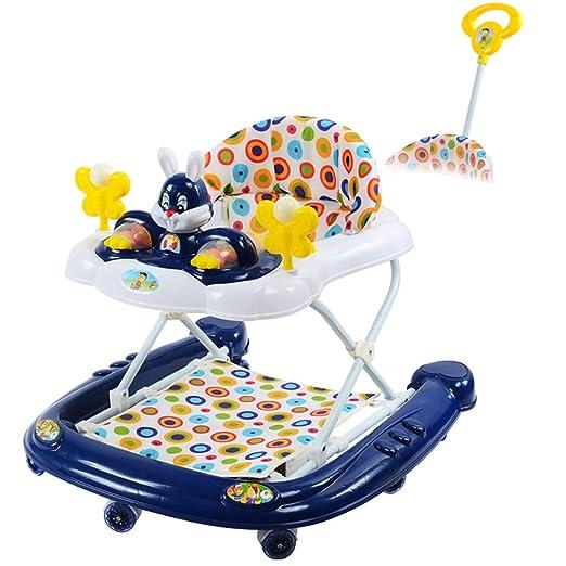 LFY Baby Walker Multifuncional con Bandeja de Juguetes Musicales ...
