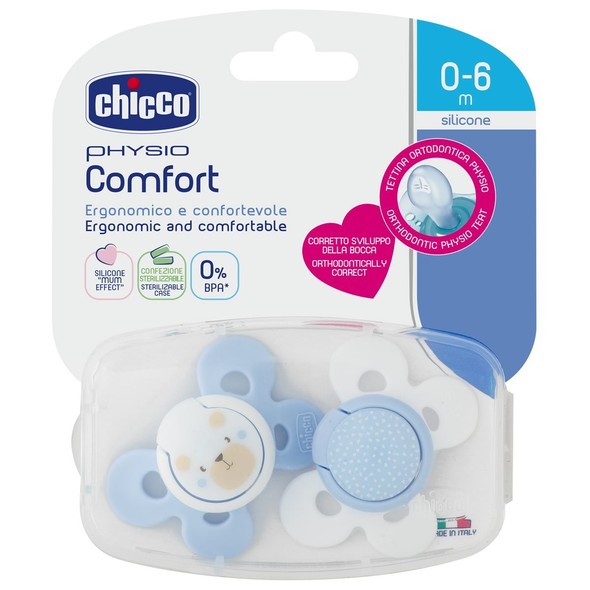 Amazon.com : Chicco Physio Comfort - 2 Pieces ...