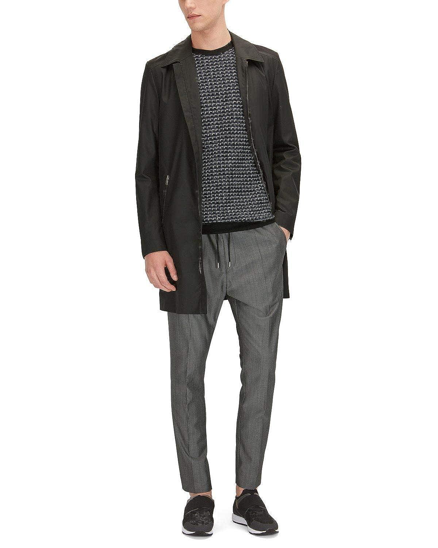 835a1f218163e Grey Hugo Boss Men's Himesh Himesh Himesh Wool-Blend Jogger Pants ...