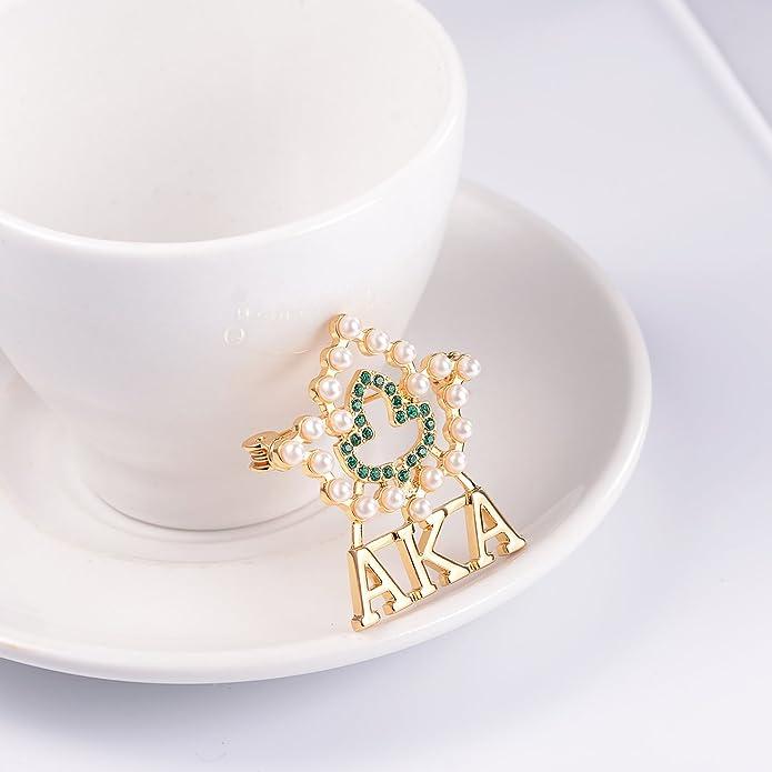 Amazon.com: Lanqueen AKA Sorority Gifts, Vintage Crystal ...
