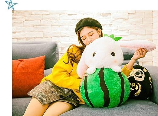 Yuhualiyi123 Verduras rellenas Fluffy Bunny Toys Almohada ...
