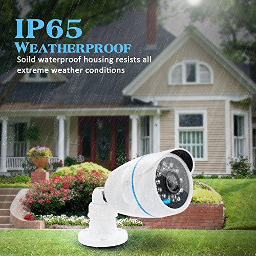 Kamtron Wireless Security Camera Outdoor Wifi Surveillance
