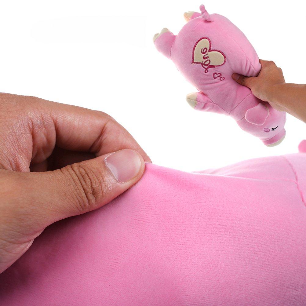 37YIMU - Felpa rosa sueño cerdo-cute peluche suave muñeca juguetes, regalo para niños, amigos: Amazon.es: Juguetes y juegos