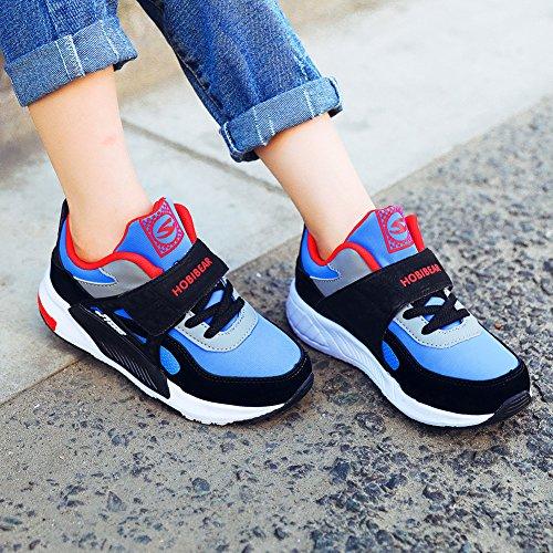 GUBARUN Running Shoes for Kids Outdoor Hiking Athletic Boys Sneakers-Blue/Black by GUBARUN (Image #6)