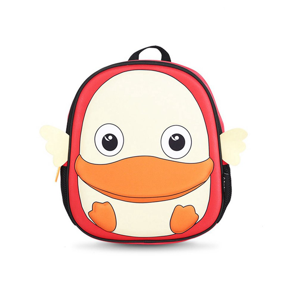 i-baby Kids Backpack 3D Animal Baby Backpack Waterproof Toddler School Bag Lunch Box Carry Bag for Kindergarten and Preschool (Red Monkey) Shanghai I-Baby Co. Ltd I63004