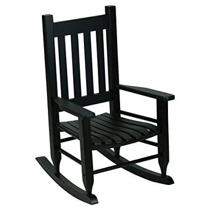 Terrific Hinkle Chair Company Plantation Childs Rocking Chair Black Andrewgaddart Wooden Chair Designs For Living Room Andrewgaddartcom