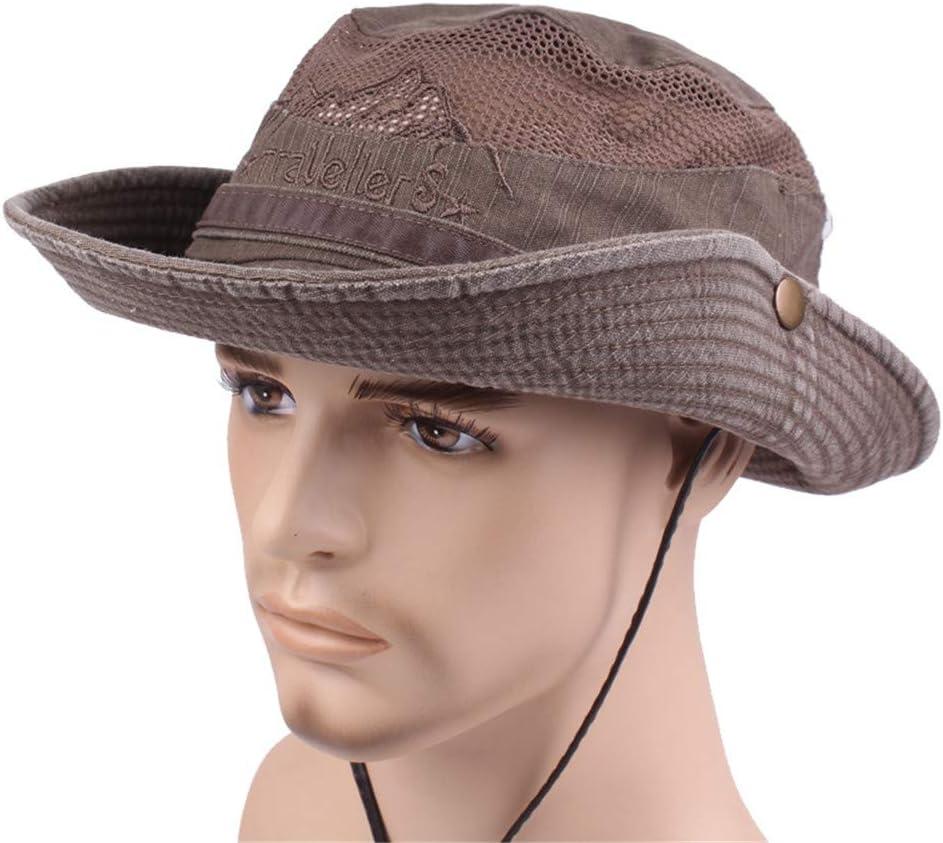 Cappello Estivo Cappello da Spiaggia Cappello da Escursionismo Outdoor Hiking Bucket Hat Protezione UV Markcur Cappello da Pescatore da Uomo Cappello da Sole