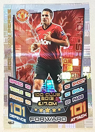 Amazon.com: Topps Match Attax 2016/2017 Robin van Persie 12 ...