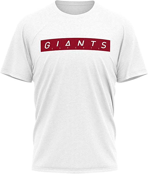 Camiseta Giants Esports Blanca/Roja Unisex: Amazon.es: Ropa y accesorios