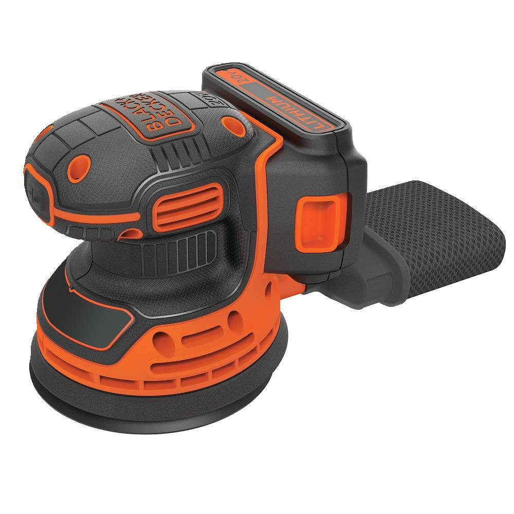 Black & Decker BDCRO20C 20V MAX Random Orbit Sander with Battery and Charger by BLACK+DECKER