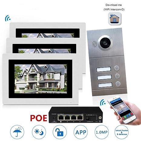 GW WiFi Video por IP Sistema de Intercomunicación con ...