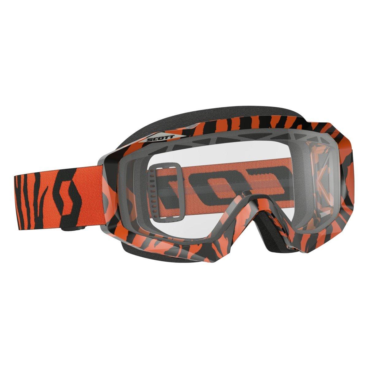 Scott Goggle Hustle MX Enduro Black/Fluo Naranja Naranja