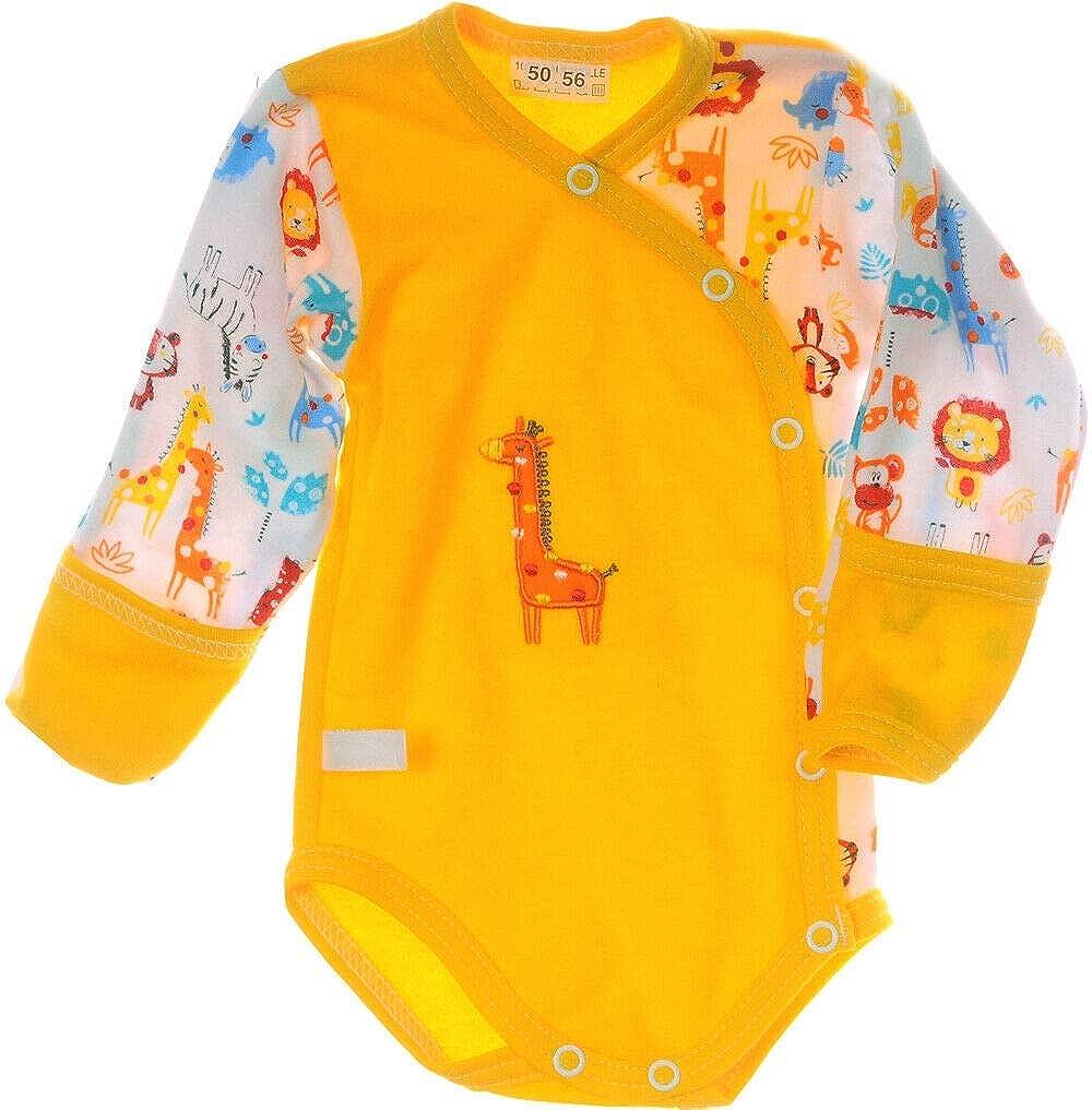 La Bortini Body Kurzarmbody 50 56 62 68 74 80 86 92 Baby Body Wickelbody Unisex
