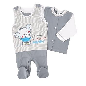 Koala Baby Baby Set Strampler Shirt Rosa Grau Motiv Reh