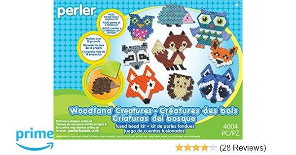 Amazon.com: Perler Fused Bead Kit, Woodland Critters: Toys & Games