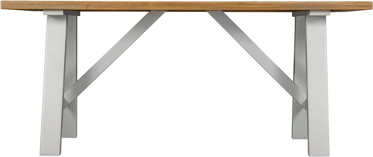 JTF Mega Discount Warehouse Hampshire Solid Wood Dining Table 9.9m ...