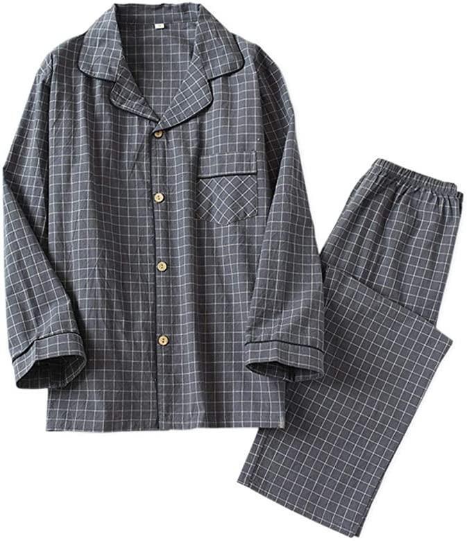 Nuevo 2020 Primavera Corea Elegancia Plaid Pijama Conjuntos ...