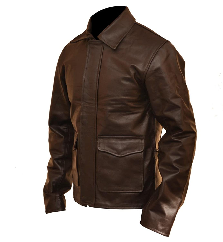 Indiana Jones Harrison Ford Vintage Leather Jacket