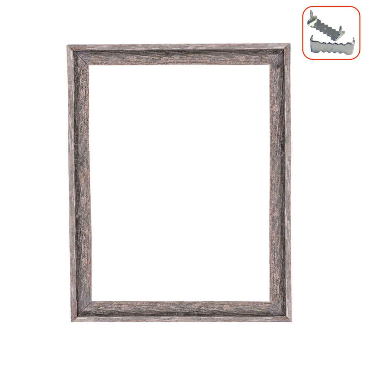 BarnwoodUSA Rustic Farmhouse Open Signature Picture Frame - Our 18x24 Open Picture Frame can be used DIY projects | Crafted From 100% Recycled Reclaimed Wood | No Assembly Required