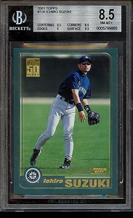 2009 Bowman Chrome Refractor #10 Ichiro Suzuki Seattle Mariners Baseball Card