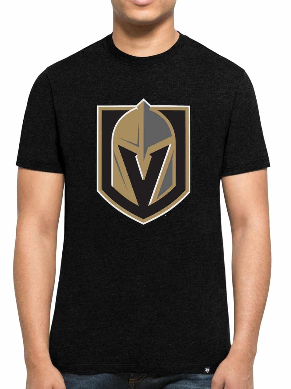 '47 Brand Vegas Golden Knights Club Logo NHL T-Shirt Black