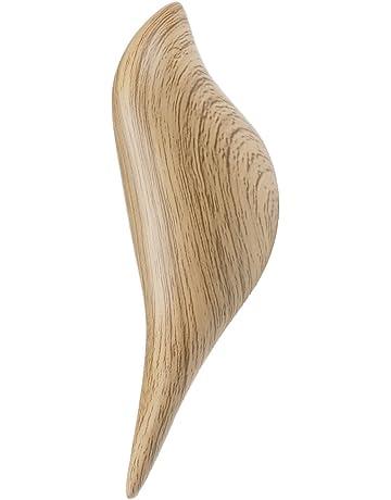 IEFIEL Ganchos percheros De Pared 3D Pájaro De madera natural Vintage Gancho de albornoz