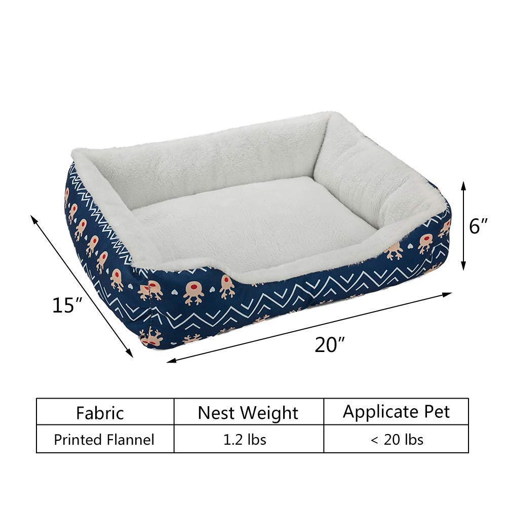 Pet Bed for Cats and Small Medium Dogs Puppy Soft Pet Nest Sleeping Bag House Cushion Mat Pad 1