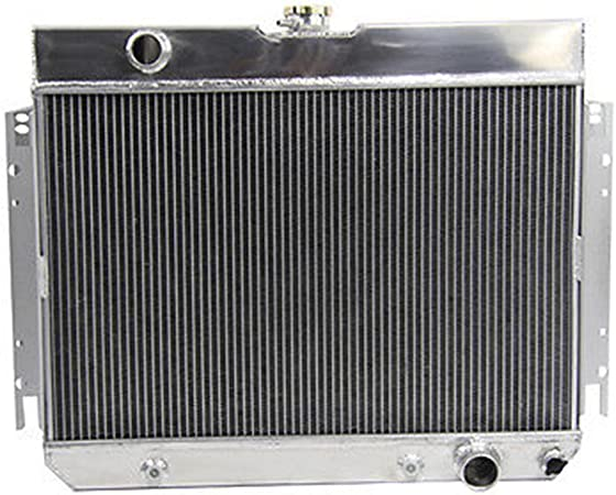 For 3 Row Aluminum Radiator For Chevy Chevelle// Impala 1963-1968 64 65 66 67