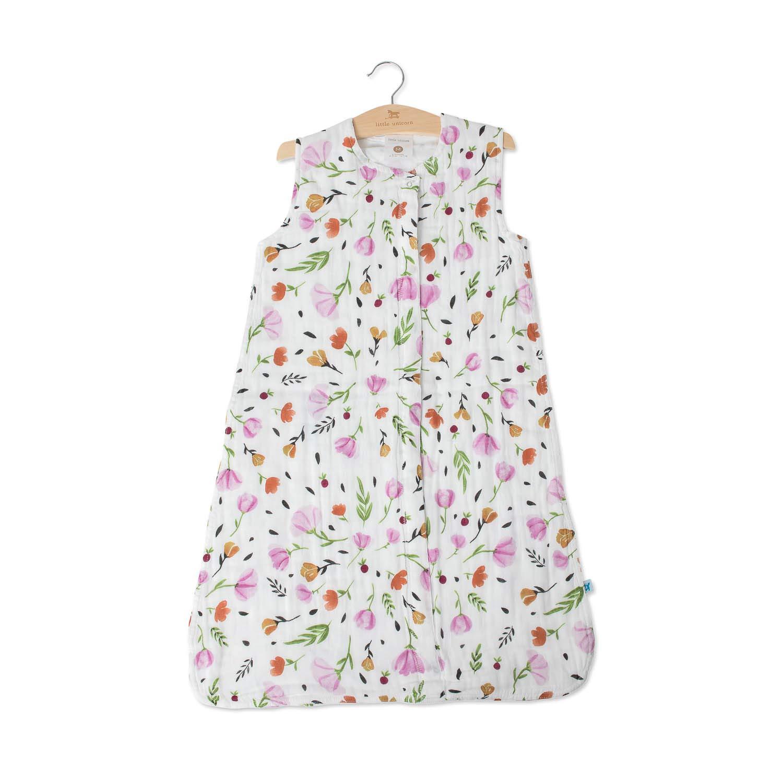 Little Unicorn Cotton Muslin Medium Sleep Bag - Berry & Bloom by Little Unicorn