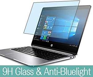 """Synvy Anti Blue Light Tempered Glass Screen Protector for HP EliteBook Folio G1 / CT 2016 12.5"""" Visible Area 9H Protective Screen Film Protectors"""