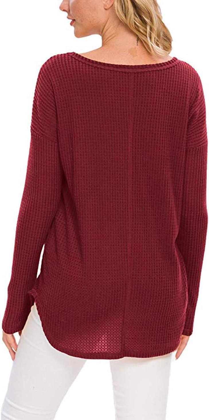 Lataw Women Tops Ladies Shirts Fashion Long Sleeve O-Neck Sequined Pocket Clothes Oversize Blouse Basic Soft Tunics Sweatshirt