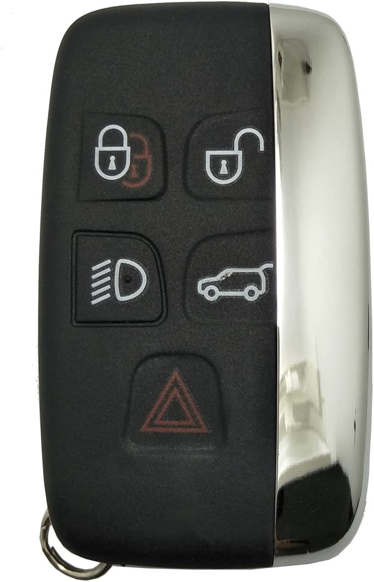 Horande Keyless Entry Key Fob Case fits for Land Rover Range Rover Sport LR2 LR4 Evoque Jaguar XF XJ XJL XE Key Fob Shell Cover