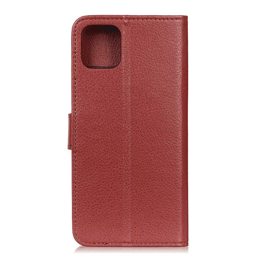 red Leather Flip Case Wallet for iPhone X Stylish Cover Compatible with iPhone X
