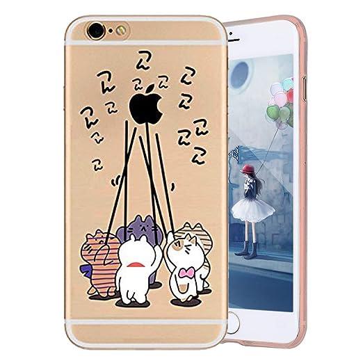 iPhone 7 Custodia  iPhone 7 4.7 Cover Custodia Pelle JAWSEU