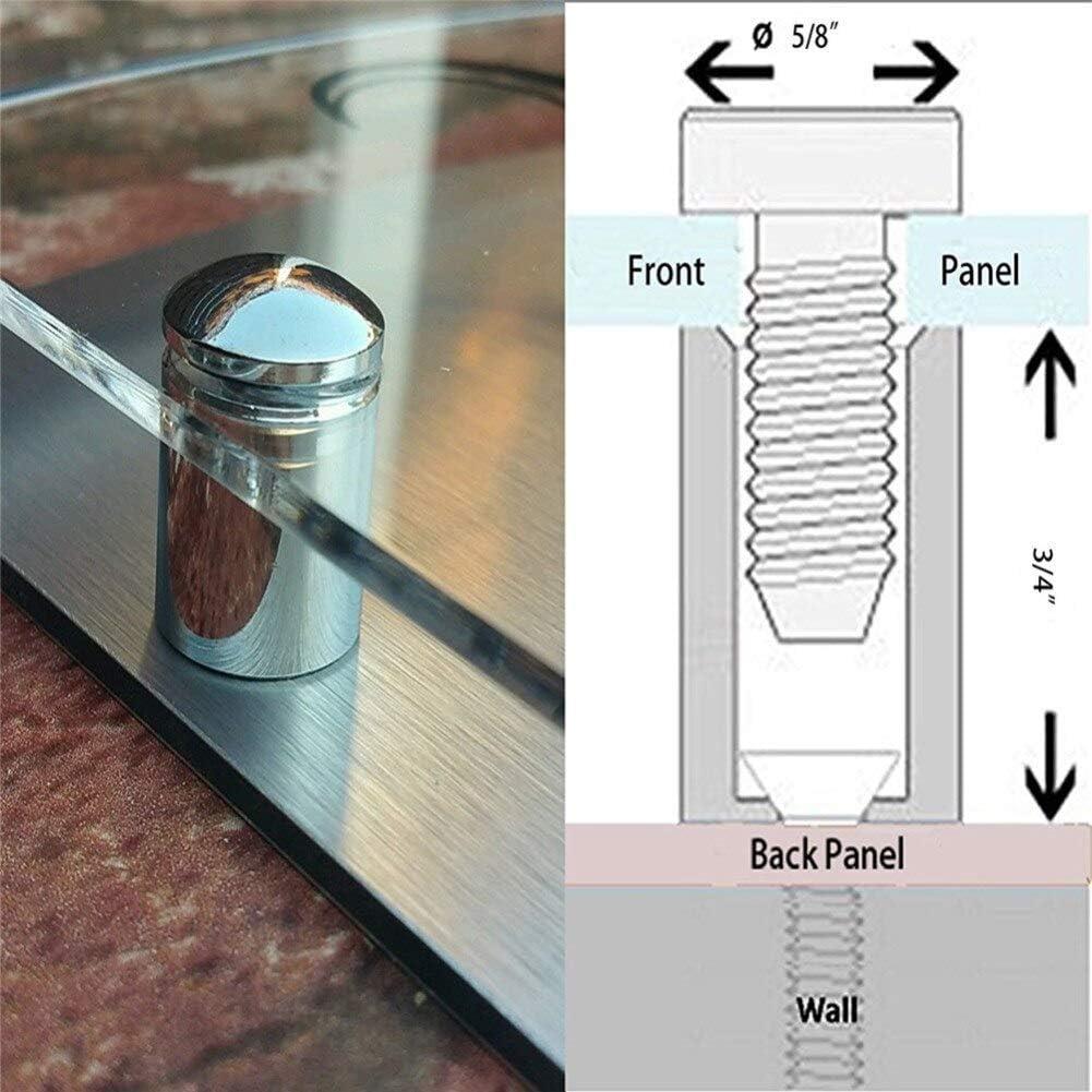 acr/ílico de cristal Placa de calle personalizada Placa para puerta con n/úmero de puerta dise/ño de puente moderno
