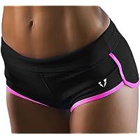 FIRM ABS Womens Moisture-Wicking Running Shorts