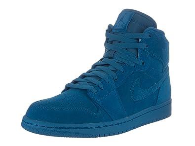 new concept 66181 0cea8 Nike Air Jordan 1 Retro High Men s Shoes (UK ...