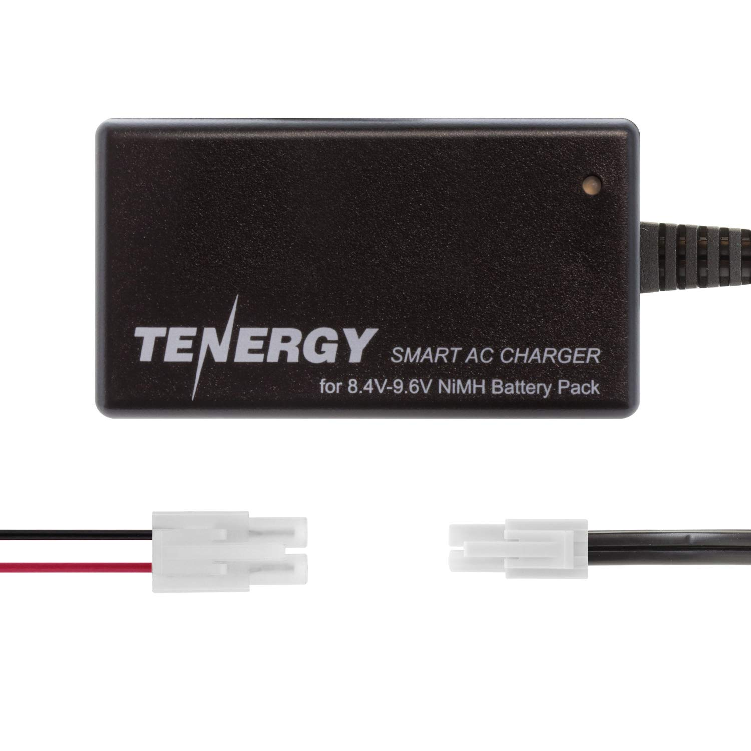 Tenergy Smart Charger for 8.4V-9.6V NiMH Battery Packs w/Mini Tamiya Connector + Standard Tamiya Adapter
