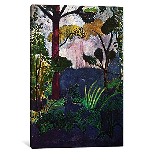 "iCanvasART 1 Piece Moroccan Landscape (1913) Canvas Print by Henri Matisse, 18"" x 12""/0.75"" Depth"