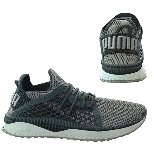 Puma Tsugi Netfit Evoknit Mens Trainers Ebony White Rock Ridge Sports Gym  Shoes (6.5 UK ff79cb10c