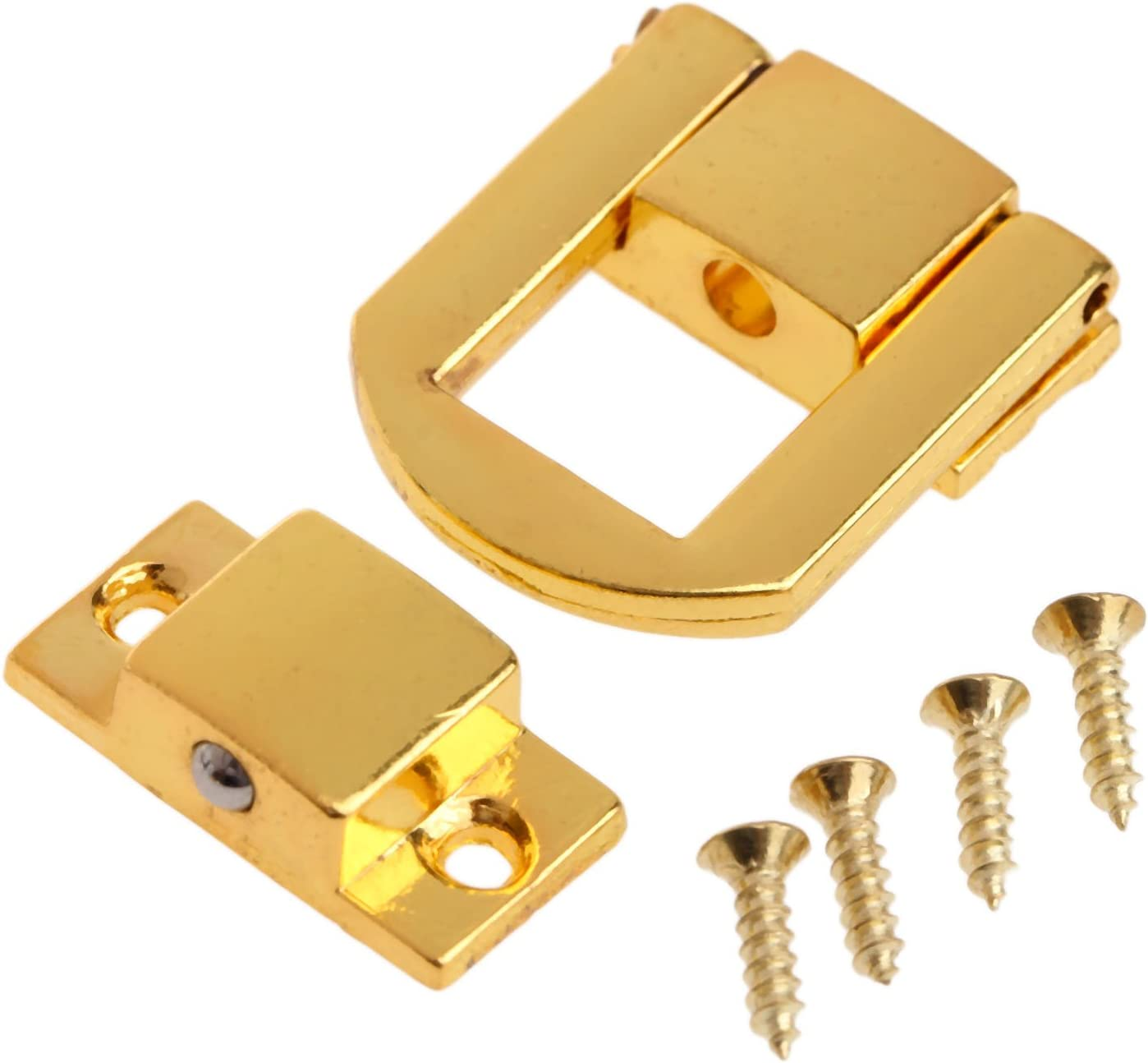 48mm Bronze Decorative Hasp Jewelry Wooden Box Catch w Screws Toggle Latch
