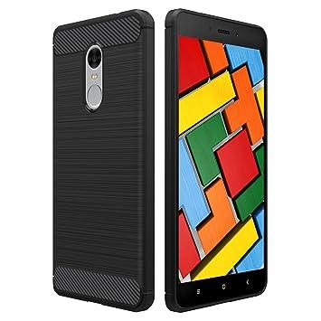 POOPHUNS Funda Xiaomi Redmi Note 4/4X, Carcasa Xiaomi Redmi Note 4/4X TPU Silicona Carcasas Fundas Case Cover Caso Protectora ...